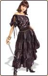 黒ドレスの海賊 コスプレ 衣装
